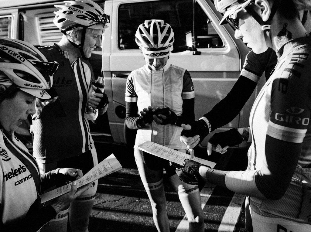 A Rapha Prestige Womens Team