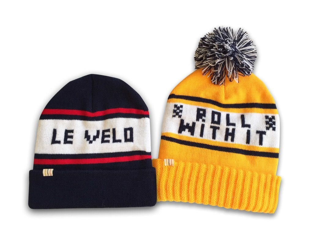 Bon Courage Knitted Hats